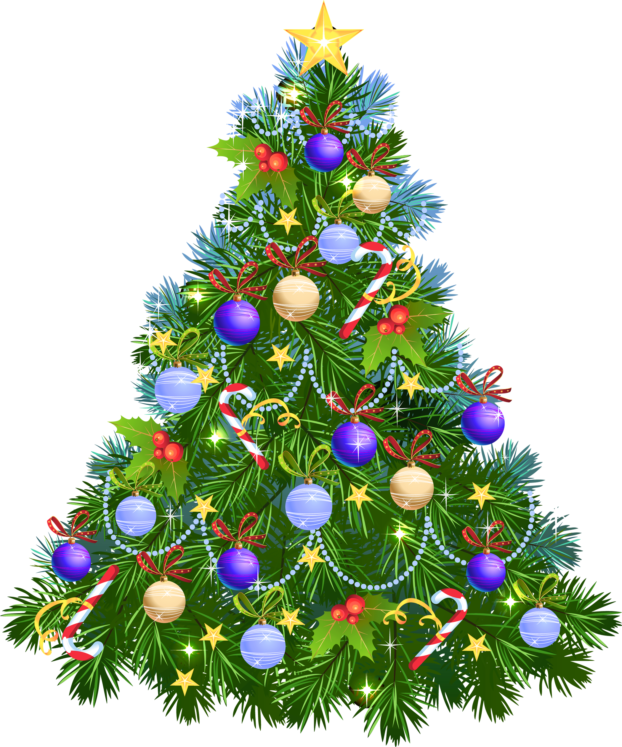 Transparent_PNG_Christmas_Tree_with_Purple_Ornaments